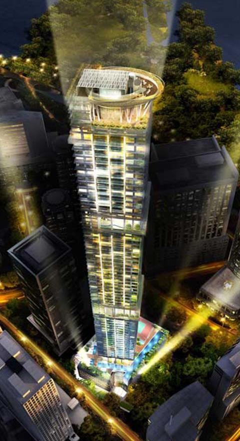 Skysuites @ Anson, Singapore